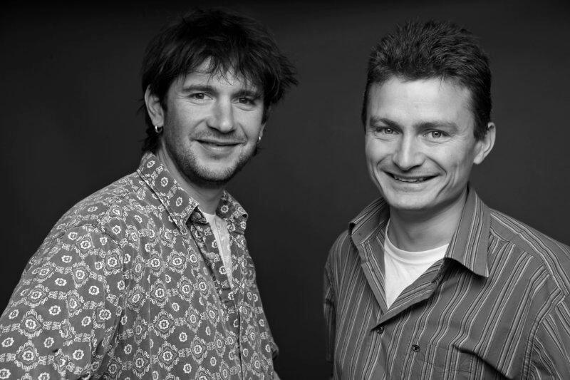 Christian Weiermann und Martin Kriner