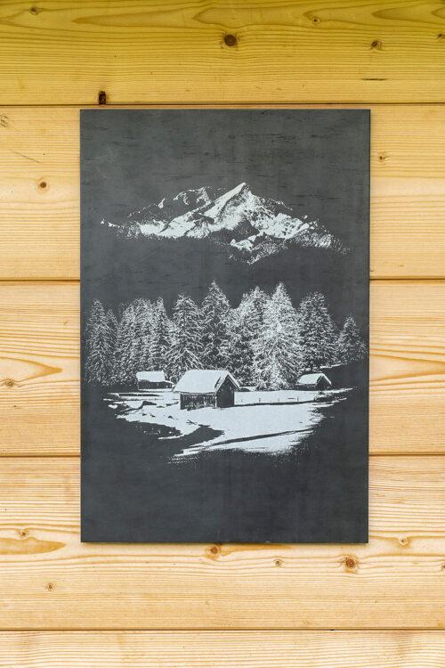AlpinPopArt, Alpin-Pop-Art, Alpspitze